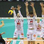 Alla Lube non riesce il blitz al PalaEvangelisti di Perugia: sconfitta 3-1