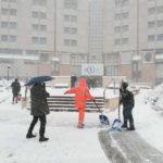 In tutti gli ospedali marchigiani è stato subito attivato il piano neve