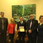 Importante riconoscimento in Egitto al marchigiano Paolo Sabbatini