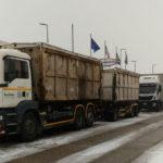 Ad Ancona ancora disagi, causati dal maltempo, per la raccolta dei rifiuti