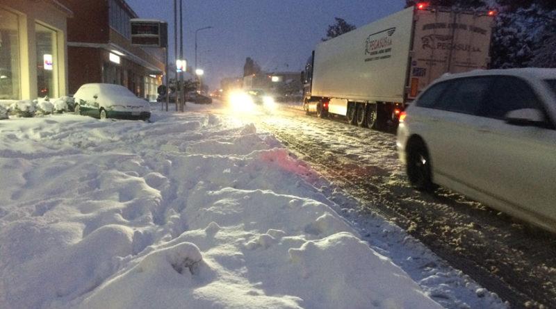 Mercoledì nuovo peggioramento delle condizioni meteo: nelle Marche è previsto il ritorno della neve anche a quote basse
