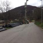 Cantieri sulle strade provinciali del Piceno danneggiate dal sisma