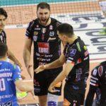 Alla Lube non riesce la rimonta a Modena, brutto ko (3-1) in Gara 2