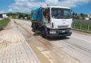 """Dopo la """"bomba d'acqua"""" che si è abbattuta sulla città mobilitati tutti i mezzi di AnconAmbiente per la pulizia delle strade"""