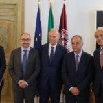I problemi delle Università marchigiane affrontati a Macerata in un incontro con il ministro dell'Istruzione Marco Bussetti