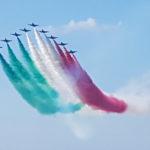 Unità, solidarietà e ripresa: venerdì le Frecce Tricolori sorvoleranno Loreto