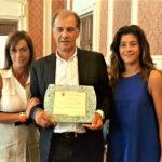 Riconoscimento ad Ancona per Alberto Rossi campione europeo di vela J/70