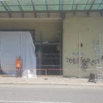 E' iniziata a Pesaro la riqualificazione del vecchio Palasport