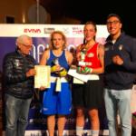 """Al """"Guanto d'oro"""" femminile le Marche della boxe protagoniste con Carlotta Paoletti e Nadia Flahli"""