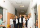 All'ospedale di Recanati il presidente Ceriscioli ha inaugurato l'impianto di climatizzazione del reparto Cure intermedie