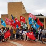 Appalti ferroviari, sciopero e sit-in davanti alla sede della Regione
