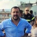 """Matteo Salvini torna da ministro all'Hotel House di Porto Recanati: """"Va abbattuto al più presto"""""""