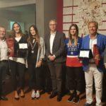 Il presidente della Regione Luca Ceriscioli ha premiato i giovani tennisti marchigiani