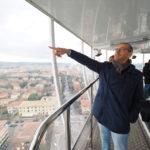 Con la torre panoramica tante persone hanno potuto ammirare la bellezza di Pesaro dall'alto
