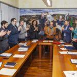 Il neo presidente della Provincia di Pesaro Urbino Giuseppe Paolini ha giurato davanti al Consiglio provinciale
