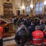 Primo incontro del presidente della Provincia Paolini con i dipendenti per programmare il rilancio del territorio