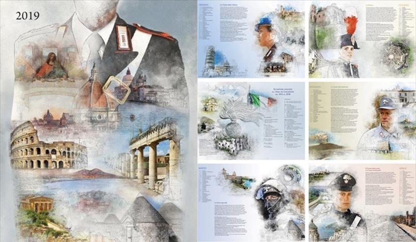E Dedicato Al Patrimonio Artistico Italiano Il Calendario Storico