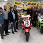 In tanti a Borgo Santa Maria di Pesaro per festeggiare i piloti Totti e Damiami del Veris De Angeli Team