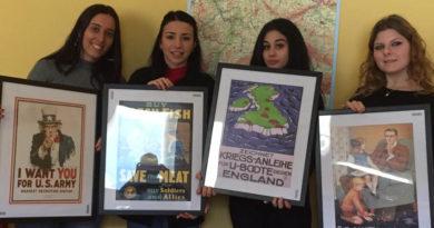 A Pesaro una esposizione di manifesti di propaganda bellica