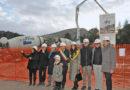 La ricostruzione avanza, visita di Ceriscioli al cantiere di Muccia
