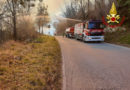 Bosco in fiamme nella tarda mattinata al Colle San Marco di Ascoli