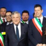 """""""Questa è casa vostra"""", a Bruxelles positivo incontro dei sindaci marchigiani con il presidente del Parlamento europeo Tajani"""