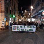 Per le vie di Pesaro la marcia della legalità per dire no alla mafia