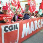 Lavoro, investimenti, sviluppo, equità: anche migliaia di marchigiani in piazza a Roma per chiedere il vero cambiamento che serve al Paese