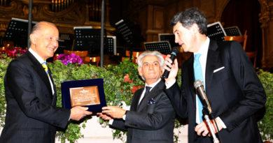 Alto riconoscimento del Conservatorio Rossini al Presidente emerito Giorgio Girelli