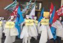 """Troppi """"fantasmi"""" nella scuola: i precari in presidio davanti all'Ufficio scolastico regionale"""