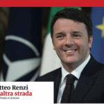"""Matteo Renzi sabato ad Ancona per presentare il suo libro """"Un'altra strada - Idee per l'Italia di domani"""""""