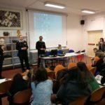 Cultura della legalità, a Pesaro incontro dei carabinieri con gli studenti del Liceo Artistico Ferruccio Mengaroni