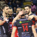 Per la Lube è arrivata la settima vittoria di fila in SuperLega: Milano sconfitta 3-1