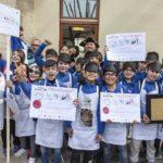 """A Pesaro una grande Caccia al tesoro letteraria, 467 alunni hanno affollato il centro storico muniti di """"mappa"""""""