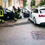 Due persone ferite in un incidente stradale al centro di Ancona