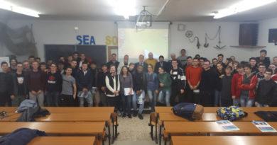 La logistica e l'autotrasporto presentate agli studenti del Volterra-Elia di Ancona