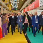 Al via il Salone del libro di Torino: il ministro della Cultura Bonisoli visita lo stand delle Marche