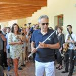 """Inaugurata a Muccia la scuola """"De Amicis"""" donata da Andrea Bocelli"""