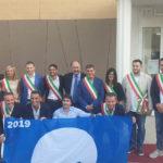 Tutti in piazza a Gabicce per festeggiare le 15 Bandiere Blu delle Marche