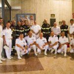 Ad Ancona cerimonia di benedizione dell'effige della Patrona dei Vigili del Fuoco e della Marina Militare