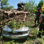 Conclusa l'emergenza maltempo: 435 interventi dei vigili del fuoco nella sola provincia di Ancona