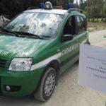 Smaltimento di rifiuti non autorizzato, i carabinieri forestali sequestrano a Tavullia un terreno agricolo