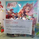 Da Frutty e Company di Falconara una donazione a favore del progetto dello sport per i piccoli pazienti cardiopatici dell'ospedale di Torrette