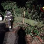 Dopo l'ondata di maltempo ancora tanti impegni per i vigili del fuoco nelle province di Ancona e Macerata