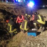 Nuovo schianto tra due auto lungo la Cameranense: tre feriti, uno è grave