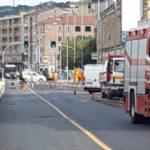 Si rompe la tubazione del metano: treni fermi e traffico paralizzato all'ingresso di Ancona
