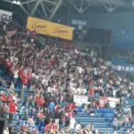 Grande delusione del pubblico dopo la sconfitta del Carpegna Prosciutto Basket Pesaro