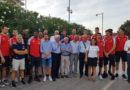 A Pesaro il sindaco Ricci premia i giganti degli scudetti del basket