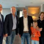 Matteo Ricci incontra Tony Blair e lo invita al Rof