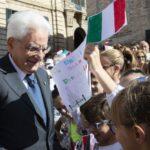 Il Presidente Sergio Mattarella a Recanati sul Colle dell'Infinito e a Casa Leopardi